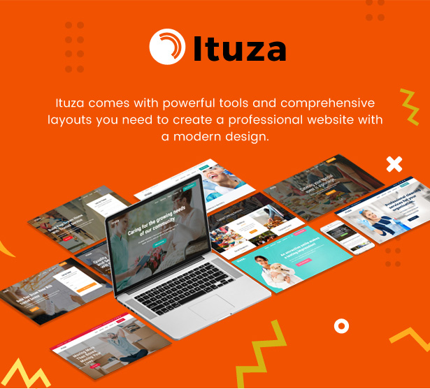 Ituza - Multi-Concept Theme for Service Businesses - 2