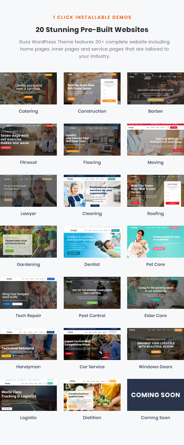 Ituza - Multi-Concept Theme for Service Businesses - 3