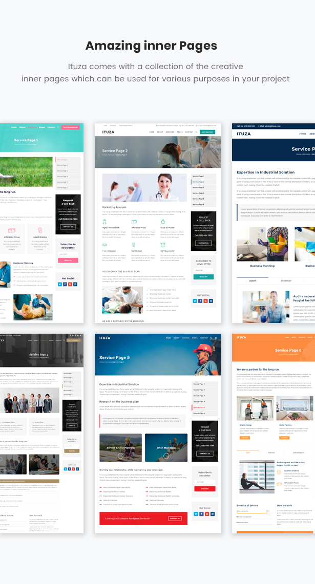 Ituza - Multi-Concept Theme for Service Businesses - 6